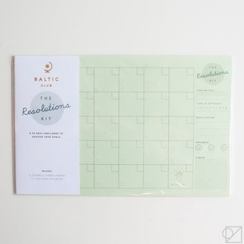 Resolution Kit Challenges Calendars