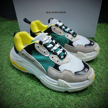 Fashion Balenciaga Triple-S Sneaker Casual Shoes Clunky Sneaker