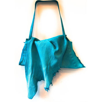 Deconstructed slouch tote bag