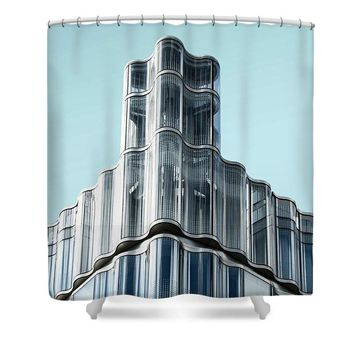 Urban Architecture - Oxford Street, London, United Kingdom 3 - Shower Curtain