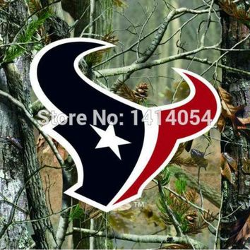 Houston Texans  real tree camo  Flag 150X90CM Banner 100D Polyester3x5 FT flag brass grommets 001, free shipping