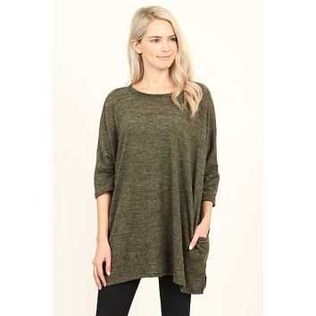 Hacci Pocket Tunic Top