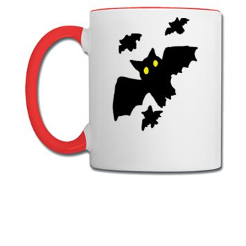 Bat - Bats - Halloween - Copy - Coffee/Tea Mug