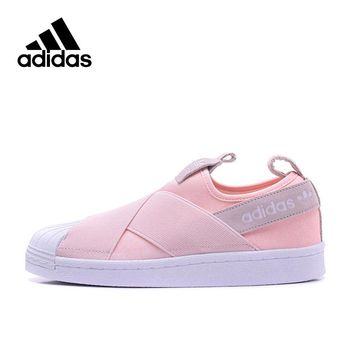 Original New Arrival Official Adidas Women's Leisure Skateboarding Shoes Sport Outdoor Sneakers Comfortable S76408 S76407