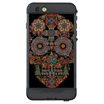 Flower Sugar Skull LifeProof NÜÜD iPhone 6s Plus Case