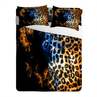 Caleb Troy Leopard Storm Sheet Set