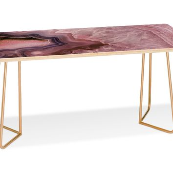 PALE PINK AGATE Coffee Table by Emanuela Carratoni