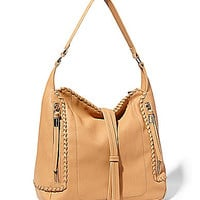 Big Buddha Aricia Whipstitch Hobo Bag