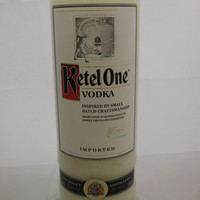20 Ounce Pure Soy Candle in Reclaimed Ketel One Vodka Liquor Bottle - Your Choice of Scent