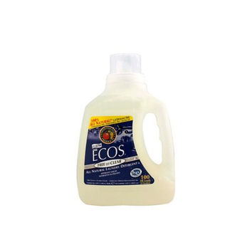 Earth Friendly Ecos Ultra 2x All Natural Laundry Detergent - Free And Clear - 100 Fl Oz  10% Off Auto renew