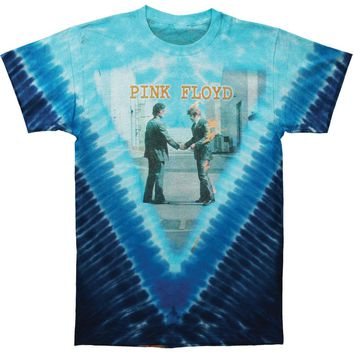 Pink Floyd Men's  Wish You Were Here Tie Dye T-shirt Multi