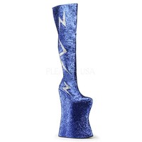 Pleaser Female 13 1/2 Inch Heel, Inch Platform Thigh Boot VIVA3016