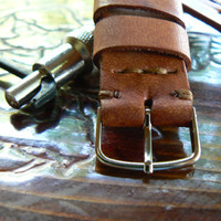 Apple watch, Leather Watch Strap, 22 mm Watch Band,  moto 360 strap , moto 360 band, panerai strap, men's watch