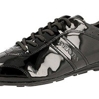 Prada Women's 3E4126 OL3 F0002 Leather Sneaker