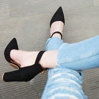 2018 Sexy Classic High Heels Women's Sandals Summer Shoes Ladies Strappy Pumps Platform Heels Woman Ankle Strap Shoes
