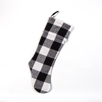 B&W BUFFALO CHECK STOCKING