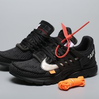 Black OFF-WHITE ™ x Nike Air Presto 2.0 for Women Men