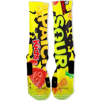 Sour Patch Kids Custom Nike Elite Socks