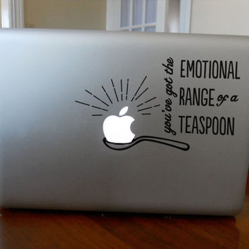Funny Ron and Hermione Harry Potter Macbook Decal