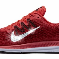 Nike Air Zoom Winflo 5 + Crystals - Bright Crimson