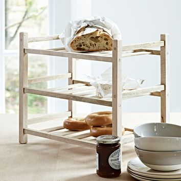 NEW Teak Kitchen Rack