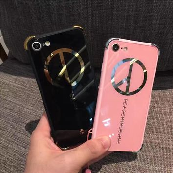 Hot Deal On Sale Iphone 6/6s Cute Stylish Apple Acrylic Mirror Phone Case [10985317191]