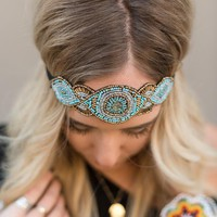 Peacock Princess Headpiece