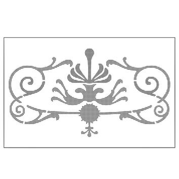 Exquisite Chandelier Reusable Stencil Airbrush Painting Art Cake Spray Mold DIY Decor Crafts free shipping