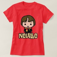 Neville Longbottom Cartoon Character Art T-Shirt
