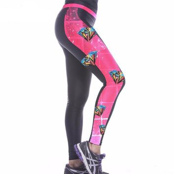 Diamond Workout Leggings