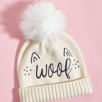 Pep-Friendly Hat in Woof