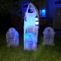 Halloween 2 Tombstone Yard Decorations - Custom Order