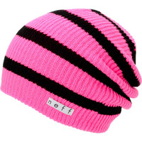 Neff Daily Pink & Black Stripe Beanie at Zumiez : PDP