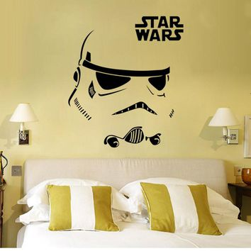 Star war wall stickers anime stickers poster anime removable waterproof wall stickers wall decor sticker decal room decoration