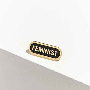 Word For Word Feminist Pin - Urban Outfitters