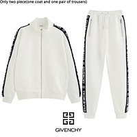 Givenchy sells fashionable couples' bespoke jacquard lace casual suits