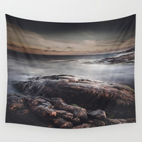 We are colliders Wall Tapestry by HappyMelvin