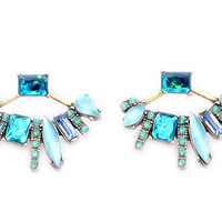 Aqua Glam Ear Jackets