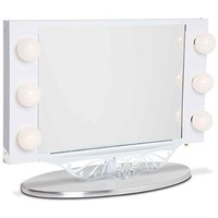 Starlet Lighted Vanity Mirror - Gloss White