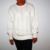 Vintage Italian Cream Sweater