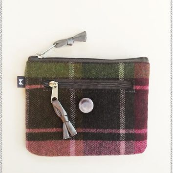 Ella Tweed Purse | Green