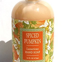 Greenwich Bay Spiced Pumpkin Shea Butter Luxurious Hand Soap Enriched with Cocoa Butter, Pumpkin Oil and Clove Oil 16 oz