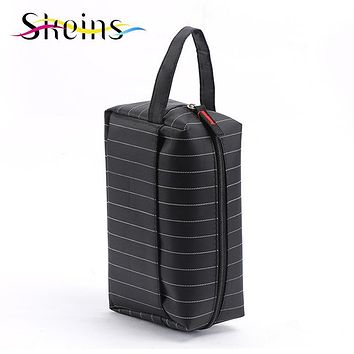 SKEINS Man Travel Cosmetic Bags Fashion Waterproof Polyester Multifunction Makeup Storage Bag High Quality Toiletry Bag For Men
