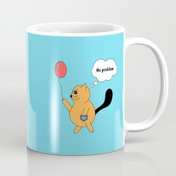 Beatrice. The cat that thinks... No problem Mug by ArtGenerations
