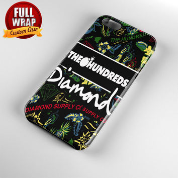 The Hundreds Diamond Supply Co Full Wrap Phone Case For iPhone, iPod, Samsung, Sony, HTC, Nexus, LG, and Blackberry