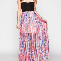 Roxy One Day Soon Maxi Dress Multi  In Sizes