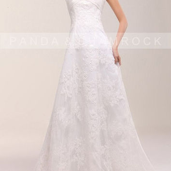 Haven/women clothing/wedding gown/sweetheart by pandaandshamrock