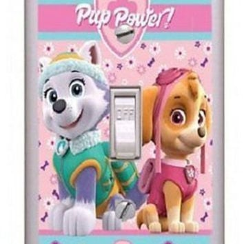 Got You Covered Nickelodeon Paw Patrol Patch Pink Girls Wall Plate Light Switch