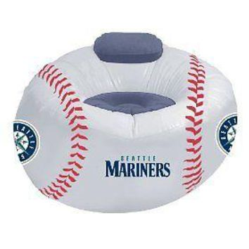 Seattle MARINERS Large Inflatable Air CHAIR w/Pump!