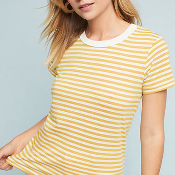 Stateside Striped Ringer Tee